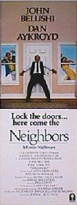 NEIGHBORS original issue 14x36 Advance rolled movie poster