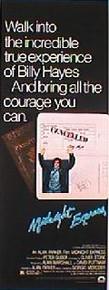 MIDNIGHT EXPRESS original issue 14x36 rolled movie poster