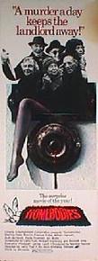 HOMEBODIES original issue 14x36 rolled movie poster