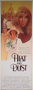 HEAT AND DUST orignal issue 14x36 rolled movie poster