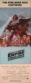EMPIRE STRIKES BACK original issue Style B 14x36 movie poster