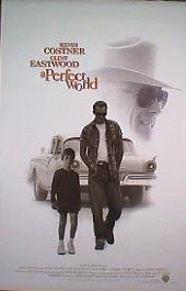 A PERFECT WORLD original issue rolled double sided 1-sheet movie poster