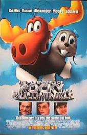 ADVENTURES OF ROCKY AND BULLWINKLE original issue rolled double sided 1-sheet movie poster