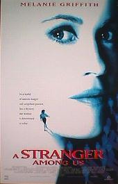A STRANGER AMONG US original issue rolled double sided 1-sheet movie poster