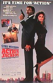 ACTION JACKSON original issue rolled 1-sheet movie poster