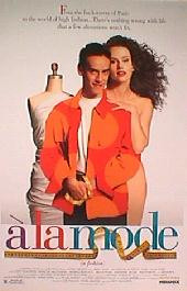 A LA MODE original issue rolled 1-sheet movie poster
