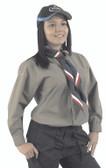 Explorer Long Sleeve Blouse (Beige)