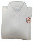 St Davids White Polo Shirt