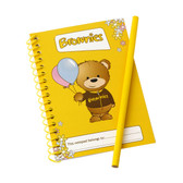 Brownies Notepad and Pencil Set