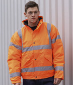 Portwest 3-in-1 Hi-Vis Bomber Jacket GO/RT (PW021)