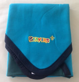 Two Section Beavers and Cubs Poncho Blanket