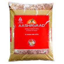 Aashirvaad Atta is made from the choicest grains - heavy on the palm, golden amber in colour and hard in bite. It is carefully ground using modern 'chakki - grinding' process for the perfect balance of colour, taste and nutrition which also ensures that Aashirvaad atta contains 0% Maida and is 100% Sampoorna Atta. The dough made from Aashirvaad Atta absorbs more water, hence rotis remain softer for longer.