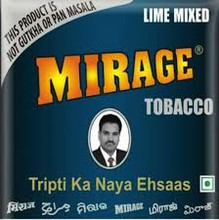 Mirage Khaini 15gram (5 Pack), Miraj, Chuna, moist, fresh.