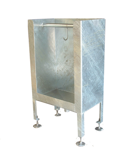 HEAD/OFFAL WASH CABINET GALVANISED
