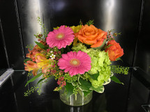 Hot fun in the summertime is here, and it's flowerific to be sure! This beautiful bouquet brings together a rainbow of the season's brightest blossoms.