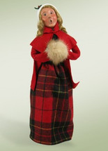 Caroling Woman