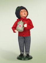 Salvation Army Boy with Coffee Pot