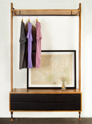 Clothing rail Shelving Unit