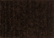 "7'-6"" x 9'-6"" 100% Polyester Brown"