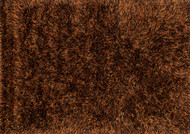 "7'-6"" x 9'-6"" 100% Polyester Rust"