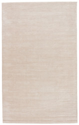 2' x 3' Area Rug Rectangle Beige Basis BI07 Handmade Hand-Loomed Contemporary