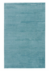 5' x 8' Area Rug Rectangle Aqua Basis BI11 Handmade Hand-Loomed Contemporary