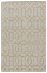 2' x 3' Area Rug Rectangle Blue Ivory City Bellevue CT27 Handmade Hand-Tufted