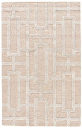 2' x 3' Area Rug Rectangle Beige Silver City Dallas CT25 Handmade Hand-Tufted