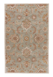 12' x 18' Area Rug Rectangle Blue Tan Mythos Abers MY13 Handmade Hand-Tufted Traditional