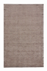 """7'6"""" x 9'6"""" Area Rug Rectangle Gray Fables Valiant FB66 Machine Made Power-Loomed"""