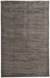 5' x 8' Area Rug Rectangle Black Basis BI15 Handmade Hand-Loomed Contemporary