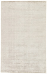 8' x 10' Area Rug Rectangle Gray Yasmin YAS04 Handmade Hand-Loomed Glam Contemporary Solid