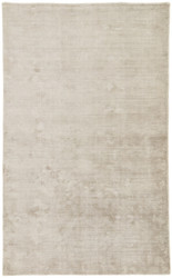 5' x 8' Area Rug Rectangle Silver Oxford OXD03 Handmade Hand-Loomed Contemporary Glam