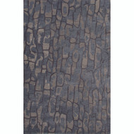 2' x 3' Area Rug Rectangle Blue Gray National Geographic Home Collection Tuf Premium