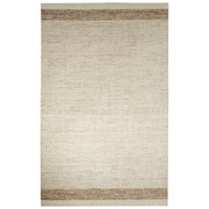5' x 8' Area Rug Rectangle White Brown Alton Dorado ALT05 Handmade Hand-Tufted