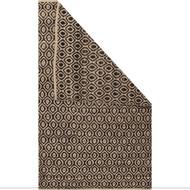 8' x 10' Area Rug Rectangle Black Beige Subra By Nikki Chu Rigal SNK10 Handmade