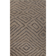 2' x 3' Area Rug Rectangle Beige White Luxor By Nikki Chu Charon LNK03 Handmade
