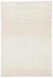 "7'10"" x 9'6"" Area Rug Rectangle White Gray Jada Delta JAD02 Machine Made Power-Loomed"