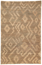 2' x 3' Area Rug Rectangle Brown Beige Traditions Made Modern Select Instinct TMS01