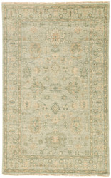 8' x 10' Area Rug Rectangle Beige Green Bennett Massimo BNT01 Handmade Hand-Knotted
