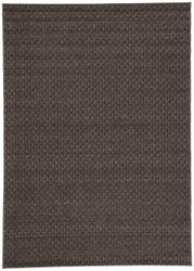 8' x 10' Area Rug Rectangle Black Brown Acadia Tortola ACD06 Machine Made Power-Loomed