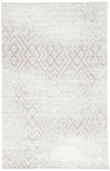 5' x 8' Area Rug Rectangle Gray Blue Ceres Stern CER09 Machine Made Power-Loomed
