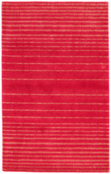 5' x 8' Area Rug Rectangle Red Pink Traditions Made Modern Tufted Alamos MMT21 Handmade