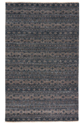 9' x 13' Area Rug Rectangle Gray Tan Verna Desta VEN08 Handmade Hand-Knotted Global