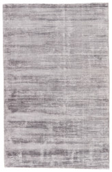 2' x 3' Area Rug Rectangle Gray Silver Yasmin YAS13 Handmade Hand-Loomed Glam