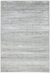 "7'10"" x 10'10"" Area Rug Rectangle Gray Cream Greyson Eaton GRY02 Machine Made"