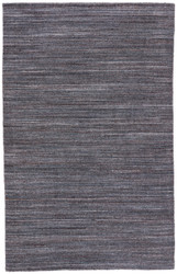 8' x 11' Area Rug Rectangle Dark Gray Madras Vassa MDS01 Handmade Hand-Woven