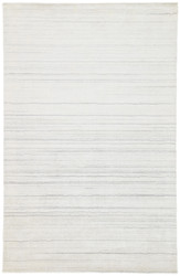 10' x 14' Area Rug Rectangle White Gray Lefka Oplyse LEF02 Handmade Hand-Loomed