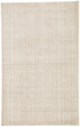 5' x 8' Area Rug Rectangle Ivory Beige Basis BI26 Handmade Hand-Loomed Contemporary