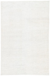 5' x 8' Area Rug Rectangle White Rebecca Limon RBC03 Handmade Flat-Woven Contemporary